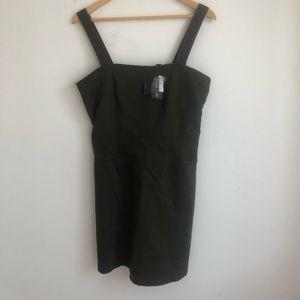 Forever 21 Olive Green Mini Dress - NWT